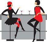 Bar Counter,Bar - Drink Establishment,Women,Cafe,Martini,Cocktail,People,Restaurant,Sitting,Drinking,Party - Social Event,Table,Drink,Gossip,Talking,Ilustration,Vector,Friendship,Chair,Elegance,Fashion,Dress,Night,Two People,Talk,Female,Celebration,Red,Discussion,Beauty,Nightclub,Holiday,Meeting,Young Adult,Glass,Alcohol,Relaxation,Leisure Activity,Painted Image,Adult,Recreational Pursuit,People,Drinks,Holidays And Celebrations,Femininity,Parties,Activity,Food And Drink