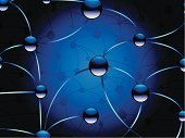 Computer Network,Communication,Abstract,Backgrounds,Technology,Global Communications,Science,Sphere,Blue,Internet,Built Structure,Horizontal,Vector,Ilustration,Shiny,Vector Backgrounds,Technology Backgrounds,Technology,Concepts And Ideas,Full Frame,Illustrations And Vector Art,Communication