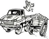Pick-up Truck,Chicken - Bird,Cart,Hay,Cartoon,Land Vehicle,Old,Wood - Material,Terrified,Black And White,Supercharger,Runaway Vehicle,Jumping,Flying,Vector,Flame,Red,Ilustration,Toothy Smile,Shiny,Smiling,Brown,Vector Cartoons,Transportation,Animals And Pets,Birds,Antique,Illustrations And Vector Art