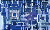 Electronics Industry,Coding,Technology,Circuit Board,Computer Chip,Abstract,Electricity,Backgrounds,Engineering,Science,Computer,Data,Transistor,Digitally Generated Image,Blue,Ilustration,Industry,Industrial Objects/Equipment,Illustrations And Vector Art,processors,Objects/Equipment