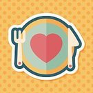 Romance,Love,Silverware,Valentine's Day - Holiday,Arranging,Illustration,Restaurant,Symbol,2015,Cooking,Table,Food,Decoration,Kitchen Utensil,Crockery,Backgrounds,Decor,Vector,Dinner,Lunch