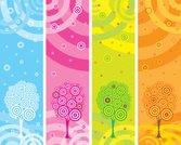 Four Seasons,Banner,Tree,Circle,Backgrounds,Vertical,Pink Color,Pattern,Autumn,Abstract,Nature,Winter,Summer,Green Color,Orange Color,Creativity,Vector,Blue,Design,Clip Art,Art,Snow,Curled Up,Nature Backgrounds,Springtime,Decoration,Illustrations And Vector Art,Set,Nature,Style,Curve,Arts Backgrounds,Arts And Entertainment,Vector Backgrounds,Ilustration,Design Element