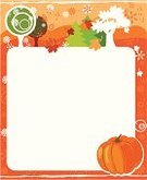 Calendar,Month,Frame,Halloween,October,Design,Backgrounds,Autumn,Pumpkin,Leaf,Vector,Silhouette,Nature,Plant,Flower,Tree,Ilustration,Year,Season,White,Painted Image,Blossom,Holiday,Grass,Illustrations And Vector Art,Image,Nature,Fall,Vector Backgrounds