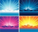 Sunrise - Dawn,Sunset,Sun,Sea,Horizon,Sky,Night,Day,Cloud - Sky,Cloudscape,Backgrounds,Blue,Vector,Sunlight,Purple,Ilustration,Horizon Over Water,Multi Colored,Lake,Bright,Yellow,Dark,Vitality,Light - Natural Phenomenon,Backdrop,Design,Vector Backgrounds,Brightly Lit,Nature Backgrounds,Nature,Vibrant Color,Illustrations And Vector Art,Bodies Of Water