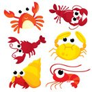 Crab,Cartoon,Shrimp,Prepared Crab,Lobster,Sea Life,Animal,Crayfish,Sea,Beach,Crayfish,Cute,Prepared Shrimp,Astrology Sign,Food,Seafood,Animal Shell,Vector,Ilustration,Cancer - Astrology Sign,Fishing,Water,Characters,hermit,Crustacean,Animal Themes,Claw,Aquatic Mammal,Dinner,Nature,Dining,Prepared Crustacean,Lunch,Red,Remote,Gourmet,Industry,Lunch Break,Isolated,Food State,Animals And Pets,Food And Drink,Sea Life,Aquatic