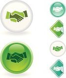 Handshake,Agreement,Symbol,Computer Icon,Human Hand,Business,Green Color,Sphere,Glass - Material,Sticky,Vector Icons,Business Symbols/Metaphors,Business,Illustrations And Vector Art