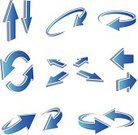 Arrow Symbol,Motion,Three-dimensional Shape,Refreshment,Symbol,Direction,Sign,Blue,Vector,Icon Set,upload,Downloading,Ilustration,Clip Art,Vector Icons,Illustrations And Vector Art