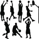 Basketball,Basketball - Sport,Silhouette,Sport,Basketball Player,Playing,Back Lit,Slam Dunk,Vector,Athlete,Muscular Build,Exercising,Running,Shooting at Goal,Jump Shot,Ilustration,Relaxation Exercise,Jumping,Action,Dribbling,Black Color,Activity,Sports Team,Aiming,Net - Sports Equipment,Outdoors,Teamwork,Shooting,Confidence,Scoring,active lifestyle,Passing,Competitive Sport,Three Points,three pointer,Three-Pointer,Basketball Tournament