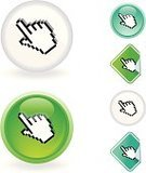 Cursor,Human Hand,Pixelated,Human Finger,Religious Icon,Vector,Interface Icons,Symbol,Peeled,Illustrations And Vector Art,Design Element,Vector Icons,Glass - Material,Computers,Technology,Sticky,Computer Icon,Sphere,Green Color