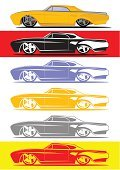 Car,Muscle Car,Ford Thunderbird,1960s Style,Classic,Transportation