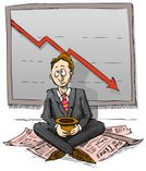 Beggar,Despair,Finance,Sadness,Begging - Social Issue,Bankruptcy,Global Communications,Recession,Financial Occupation,Financial Advisor,Banking,Depression - Sadness,Global Business,Financial Page,Newspaper,Investment,Cartoon,Ilustration,Debt,Trader,CEO,Stock Market Data,Graph,Characters,Bank Manager,Hat,Financial Newspaper,Suit,Stock Market,Economic Depression,Illustrations And Vector Art,2008,Business,Global Finance,Business Concepts,Business Symbols/Metaphors,Vector Cartoons,Tie