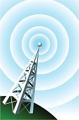 Communications Tower,Tower,Radio,Radio Wave,Repeater Tower,Mobile Phone,Wave Pattern,Wireless Technology,Sound,Communication,Broadcasting,Internet,Backgrounds,Audio Equipment,Computer Network,Podcast,Microwave Tower,Frequency,Music,Global Communications,Mobile Phone Base Station,Hill,Power,Waving,Telecom,Communications Technology,Communication,Technology,Technology Symbols/Metaphors,Concepts And Ideas