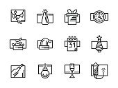 Celebration,No People,New,Holiday - Event,Christmas,Illustration,2016,Computer Icon,2015,Firework - Explosive Material,Winter,Christmas Cake,Christmas Tree,Decoration,Gift,Calendar,Event,Firework Display,Cake,Tree,Vector,Clock,Party - Social Event,Hat