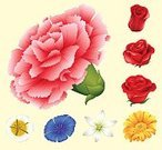 Part of a Series,Creativity,Freshness,No People,Computer Graphics,Plant,Illustration,Nature,Image,2015,Computer Graphic,Clip Art,Decoration,Botany,Gardening,Backgrounds,Lifestyles,Vector,Blue,Red,Yellow