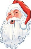Santa Claus,Human Head,Vector,Clip Art,Christmas,Cartoon,Ilustration,Smiling,Cheerful,Winter,Traditional Festival,Cute,Holiday,Holidays And Celebrations,People,Christmas,Vector Cartoons,Illustrations And Vector Art,Digitally Generated Image,Celebration,Greeting,Cold - Termperature,Red,Season