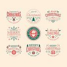 Celebration,Humor,No People,Old-fashioned,Christmas,Illustration,Postcard,2015,Decoration,Backgrounds,Vector,Greeting
