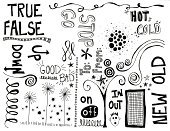 Doodle,True,Spotted,Go - Single Word,Single Word,Single Flower,White,Ink,Black Color,Design Element,hand drawn,Stop,Artificial,Drawing - Art Product,Squiggle,Contrasts,Spiral,Cold - Termperature,Concepts And Ideas,Arts And Entertainment,graphic element,Star Shape,Arts Symbols,Visual Art