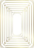 Frame,Retro Styled,No People,Deco - Soccer Player,Calligraphy,Victorian Style,Award,Ornate,Single Line,Decorating,Illustration,Christmas Decoration,2015,Decoration,Picture Frame,Vector,Gold Colored