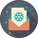 Humor,Correspondence,Holiday - Event,Greeting Card,Paper,Christmas,Christmas Card,Open,Snowflake,Illustration,Envelope,Postcard,Greeting,Writing,Computer Icon,Symbol,2015,Flat,Winter,Letter,Letter,Postage Stamp,Snow,Vector,Text