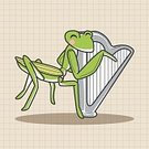Background,Animal,Cute,Guitar,Orchestra,Illustration,Zoo,Trumpet,Backgrounds,Musician,Fun,Vector