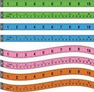 Tape Measure,Ruler,Instrument of Measurement,Centimeter,Inch,Vector,Pink Color,Symbol,Blue,Green Color,Computer Graphic,Ilustration,Plastic,Isolated,Design Element,Orange Color,Curve,Horizontal,Vector Icons,Household Objects/Equipment,Objects/Equipment,Set,Isolated On White,Illustrations And Vector Art