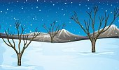 Computer Graphics,Background,Land,Falling,Snowflake,Illustration,Climate,Image,2015,Winter,Computer Graphic,Night,Weather,Clip Art,Environment,Season,Backgrounds,Snow,Snowing,Tree,Vector