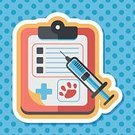 Expertise,Animal,Medical Clinic,Document,Hospital,Healthcare And Medicine,Illustration,Stethoscope,Data,2015,Medical Exam,Vet,Pets,Dog,Doctor,Illness,Vector