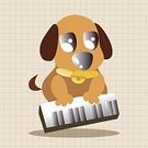 Background,Animal,Cute,Guitar,Orchestra,Illustration,Zoo,2015,Trumpet,Dog,Backgrounds,Musician,Fun,Vector