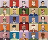 Ethnicity,Down Syndrome,Human Face,Men,Senior Adult,Variation,African Ethnicity,Lifestyle,People,Young Adults,brown-haired,Adult,Caucasian Ethnicity,Blond Hair,Redhead