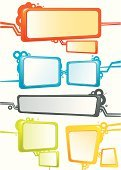 Banner,Internet,Square Shape,Sign,Three-dimensional Shape,Retro Revival,Technology,Placard,Design,Cartoon,Circle,Bubble,Shape,Cable,Green Color,Color Gradient,Orange Color,Discussion,Label,Poster,Grid,Print,Digitally Generated Image,Symbol,Computer Icon,Visual Screen,Diminishing Perspective,Color Image,Blue,Gray,Billboard Posting,Computer Cable,Yellow,Blank,Printout,Showing,Composition,Technology,Vector Icons,Illustrations And Vector Art,Technology Symbols/Metaphors,Technology Abstract