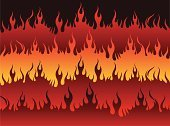 Flame,Hell,Fire - Natural Phenomenon,Seven Deadly Sins,Backgrounds,Heat - Temperature,Evil,Vector,Devil,Ilustration,Dark,Red,Concepts And Ideas,Vector Backgrounds,Internet,Illustrations And Vector Art,Black Color,Burning,Orange Color,Digitally Generated Image