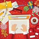 Humor,Candy,Still Life,Mail,Background,Christmas,Handwriting,Illustration,People,Writing,2015,Table,Technology,Laptop,Winter,Cookie,Christmas Present,Wishing,Gingerbread Man,Wireless Technology,Gift,Small,Season,Backgrounds,Santa Claus,Desk,Vector,Computer,Text,Greeting,Red,Parchment,Holding