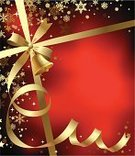 Christmas,Backgrounds,Banner,Gold Colored,Placard,Ribbon,Red,Greeting,Holiday,Bell,Gift,Modern,Snowflake,Decorating,Ilustration,Decoration,Holiday Backgrounds,New Year's,Christmas,Holidays And Celebrations