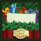 Celebration,Art And Craft,Art,Holiday - Event,Greeting Card,Christmas,Illustration,Greeting,2015,Christmas Present,Gift,Backgrounds,Event,Tied Bow,Fun,Vector,Design,Drawing - Art Product,Bag