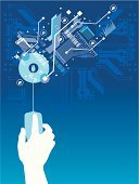 Technology,Circuit Board,Backgrounds,Abstract,Computer Chip,Electronics Industry,Communication,Electrical Equipment,Connection,Human Hand,Vector,Blue,Mother Board,Semiconductor,Industry,Electrical Component,Computer Graphic,Computer Part,Ilustration,Direction,Human Finger,processor,Outline,Computer Mouse,Main Board