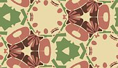 Abstract,Eternity,Repetition,Symmetry,No People,Abstract Backgrounds,Geometric Shape,Ornate,Paper,Illustration,Shape,2015,Wrapping Paper,Backdrop,Seamless Pattern,Clip Art,Backgrounds,Vector,Red,Pattern,Maroon,Brown,Green Color