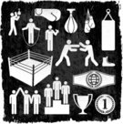 Boxing,Boxing Glove,Trophy,Sport,Stick Figure,Sports Glove,Punching Bag,Microphone,Old-fashioned,Fighting,Winning,Punching,Icon Set,Equipment,Jump Rope,Medal,Men,Conflict,Exercise Equipment,Grunge,Success,Shoe,Relaxation Exercise,Ilustration,Award,Jumping,Pedestal,Outline,Dirty,Sports Equipment,Arguing,Competition,Muscular Build,Sports Training,Unhygienic,Commentator,Athlete,Damaged,Public Speaker,Elegance,Black And White,Rusty,Obsolete,Distressed,Scratched,Competitive Sport,Announcement Message,Heavy Bag,Hitting,Simplicity
