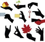 Human Hand,Silhouette,House,Business Card,Plant,Key,Vector,People,Pointing,Computer Graphic,Human Finger,House Key,OK Sign,Human Arm,Ilustration,Black Color,Greeting,Fist,Isolated,Clip Art,People,Beauty And Health