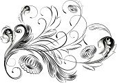 Floral Pattern,Art Deco,Swirl,Art Nouveau,Pattern,Victorian Style,Ornate,Vector,Acanthus Plant,Retro Revival,Design Element,Scroll Shape,Old-fashioned,Gothic Style,Decoration,Antique,Black Color,Engraved Image,Leaf,Black And White,Elegance,Squiggle,Intricacy,Spiral,Silhouette,Spring,Flowers,floral ornament,Illustrations And Vector Art,Nature