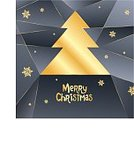 Abstract,Humor,Holiday - Event,Greeting Card,Christmas,Snowflake,Single Line,Color Gradient,Illustration,Greeting,December,2015,Happiness,Winter,Light - Natural Phenomenon,Christmas Tree,Decoration,Gift,Season,Glowing,Backgrounds,Snow,Tree,Vector,Design,Gold Colored,Pattern,Black Color