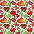 Abstract,Romance,Abstract Backgrounds,Beauty,Ornate,Beautiful People,Summer,Illustration,Nature,Leaf,2015,Seamless Pattern,Decoration,Backgrounds,Vector,Pattern,Floral Pattern,Textile