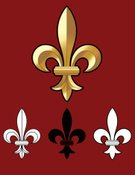 Fleur De Lys,Vector,Vector Ornaments,Vector Icons,Illustrations And Vector Art,accent,Religious Icon,Symbol,Concepts And Ideas