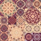 Abstract,No People,Ornate,Illustration,2015,Seamless Pattern,Backgrounds,Vector,Pattern,Floral Pattern,Textile
