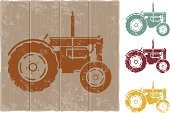Tractor,Agriculture,Vector,Symbol,Grunge,Sign,Religious Icon,Transportation,Agricultural Machinery,Machinery,Distressed,Equipment,Mode of Transport,Transportation,Objects/Equipment,Illustrations And Vector Art,Damaged