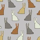 Computer Graphics,Animal,Cute,Illustration,Nature,Animal Markings,2015,Easter,Backdrop,Computer Graphic,Seamless Pattern,Decoration,Season,Backgrounds,Hare,Fun,Vector,Pattern,Pink Color