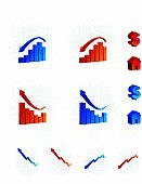 Chart,Arrow Symbol,Moving Up,Finance,Moving Down,Currency,Bar Graph,Funky,Backgrounds,Housing Problems,Vector,Computer Icon,Grid,Dollar Sign,Vector Icons,Business Symbols/Metaphors,Business,Illustrations And Vector Art,Business Concepts