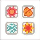 Four Seasons,Sun,Sign,Season,Computer Graphic,Computer Icon,Icon Set,Dried Food,Symbol,Snow,Rose - Flower,Summer,Springtime,Flower,Push Button,Seasonal Icon Set,Seasons Icon Set,Concepts And Ideas,Time,Illustrations And Vector Art,icons set,Winter,Color Image,Ilustration,Leaf,Day,Autumn,Design