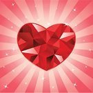 Heart Shape,Diamond,Valentine's Day - Holiday,Star - Space,Love,Backgrounds,Ruby,Crystal,Crystal,Pink Color,Religious Icon,Gemstone,Jewelry,Red,Star Shape,Vector,Shiny,Focus On Background,Romance,Sunbeam,Symbol,Glass - Material,Fashion,Bright,Facet,Married,Glamour,Vibrant Color,Engagement,Stone Material,Precious Gem,White,Brilliant,Dating,Gift,Isolated,Holidays And Celebrations,Valentine's Day,Luxury,Honeymoon,Man Made Object