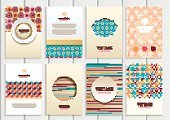 Creativity,Computer Graphics,Book,Scrapbook,Template,Packaging,Collection,Illustration,Shape,2015,Computer Graphic,Space,Brochure,Decoration,Gift,Backgrounds,Flyer - Leaflet,Vector,Label,Giving,Blue,Beige,Pattern