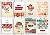 Creativity,Computer Graphics,Book,Scrapbook,Template,Packaging,Collection,Illustration,Shape,2015,Computer Graphic,Plan,Space,Brochure,Decoration,Gift,Backgrounds,Plan,Vector,Label,Giving,Blue,Beige,Pattern